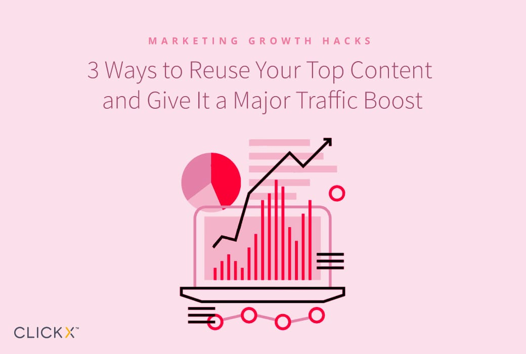 3 Ways to Reuse Your Top Content and Give It a Major Traffic Boost | Clickx.io